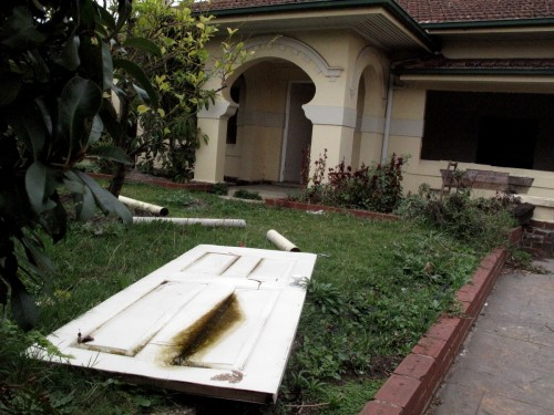 1930s California Bungalow for demolition.Melbourne.2012