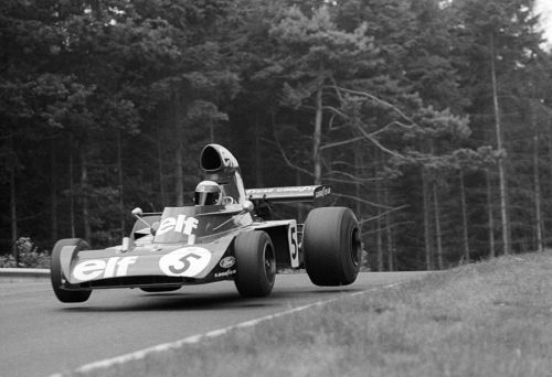 Jackie Stewart at the 1973 German Grand Prix