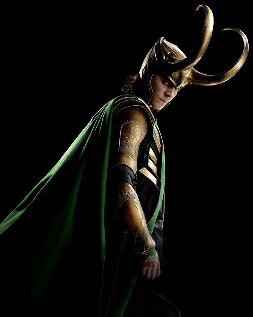 Loki was so cool, stylish, bad ass, clever and cute at the same time! But you were one crazy mofo to Loki! haha