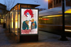 """Clowning Around"" Movie poster ProposalSummit from nuthin productions – Directed by: Damien Cullen"