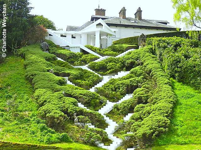 green-home:  Charles Jencks' Garden of Cosmic Speculation - click on the image to view the full blog post from Gardengrab