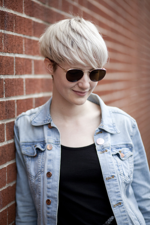fashioneasthalifax:  Platinum Blond on Hunter Street, Halifax by MTW @megsapixel