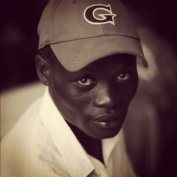G Man (Leica M9 w/IG EB) #portraits #kenya #ismsoperationkids #medicalmission #clinic #father (Taken with Instagram at Sio Port, Kenya)