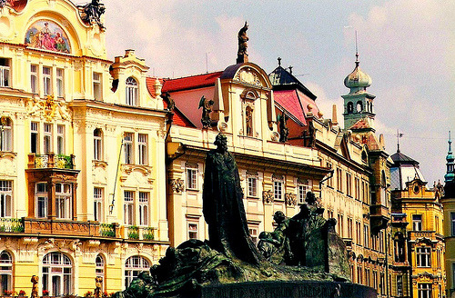 Old Town Square - Prague, Czech Republic (by FlipMode79)