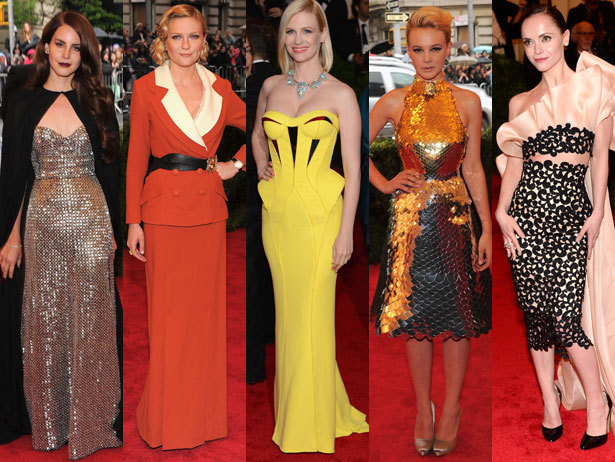 The 25 Most Fearless Fashionistas On The Met Gala Red Carpet [VH1 Celebrity] [Photos: Getty Images]
