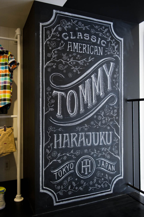 lovedesignlife:  Dana Tanamachi for TOMMY.
