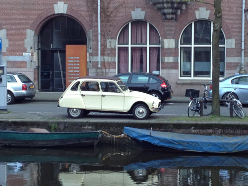 Oldskool Ride seen at the canals of Amsterdam