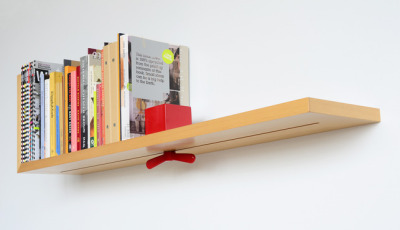 Use the Hold on Tight bookshelf to keep your most treasured books upright!
