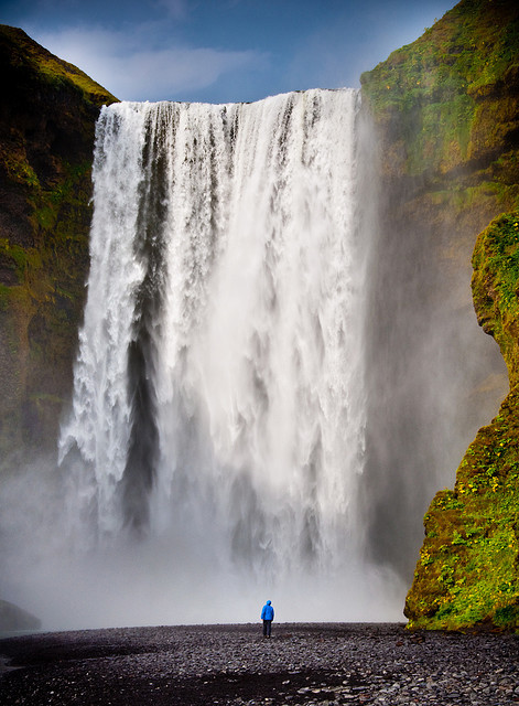 | ♕ |  [photo of the day]  Skógafoss, Iceland  | by © Zanthia