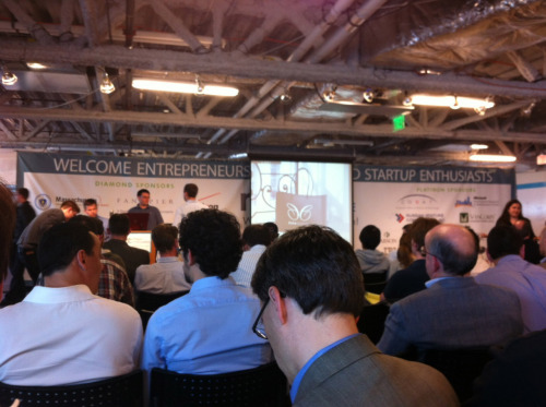 The invitation-only pitching workshop held for MassChallenge Semifinalists at their Boston headquarters on the night of May 7 was buzzing with excitement. WOOT!!! The Time Tribe joins 299 other startups chosen to advance to the Semi-finals of the MassChallenge 2012 Accelerator program, from a pool of 1,237 applicants hailing from from 35 countries and 36 states!!  This is really exciting news.  MassChallenge is the largest startup accelerator competition in the world, and the first to support such a large number of early-stage entrepreneurs showing promise of significant social and industry impact. But we're only halfway there. Next challenge is to make that leap to Finalist. By providing amazing support to Finalists *free of charge,* MassChallenge frees up indies like us to focus on what we do best: making a fantastic entertainment experience for you! MassChallenge provides:  ·        Office space and technology ·         Expert mentors ·         Legal advice ·         Training and events ·         Co-founders and team members ·         Media opportunities ·         Funding and Investors  Karen's hard at work on the deck for her Round Two pitch this Thursday. Cross fingers for us, and and we'll keep you posted!
