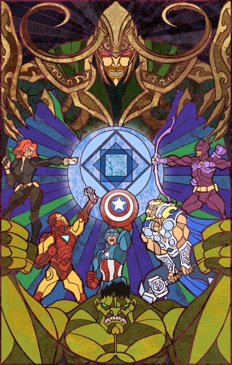 svalts:  Avengers Created by Jian Guo (via: herochan)