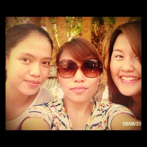 Tres Senioritas 💋#bpi #friends #officemates #vacation #teambuilding  (Taken with instagram)