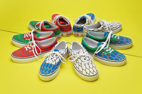 KENZO X VANS 2012 SUMMER COLLECTION.