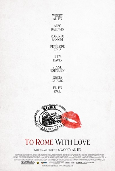 fuckyeahmovieposters:  To Rome with Love