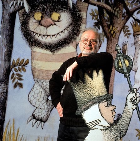 jujukitten:  RIP Maurice Sendak (June 10, 1928 – May 8, 2012).
