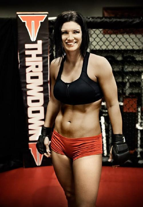 halfway-hipster:  Gina Carano  Okay, we really need a Big Barda movie now.