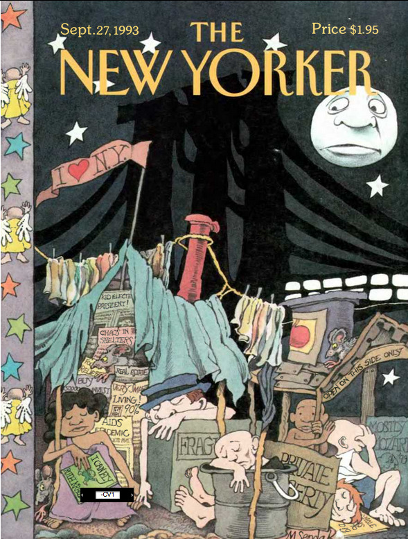 blowncovers:  I Love New York, by Maurice Sendak