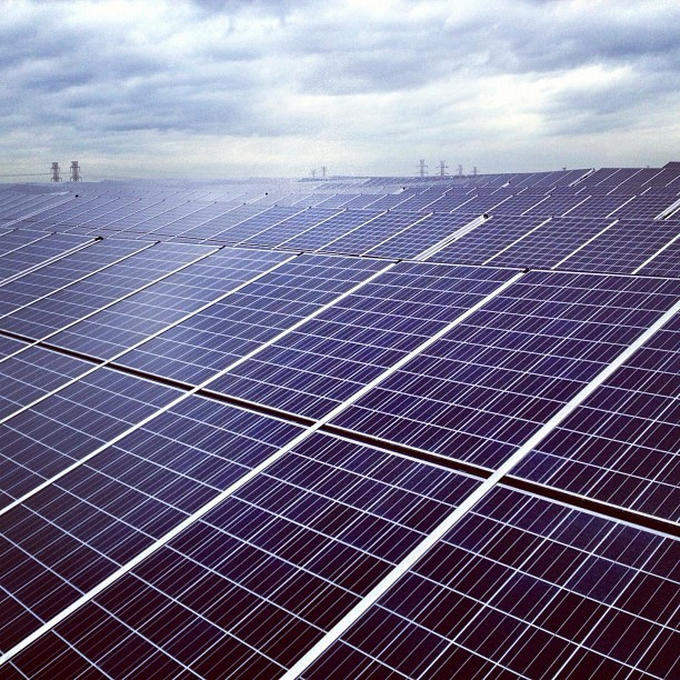 NJMC & PSEG's 3 MegaWatt 1-A Landfill Solar Installation (Taken with Instagram at Kearny, NJ)
