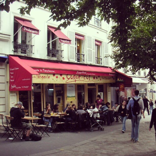 #cafe a cote de #montmartre #paris #France  (Taken with instagram)