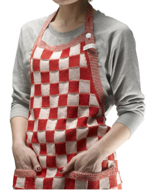limilee:  The Knitted Apron by Liset van der Scheer