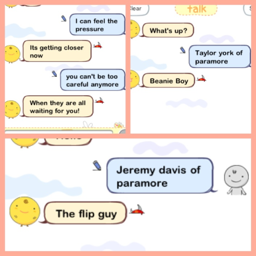 moreandmoreparamore:  Simsimi is a paramore fan! 