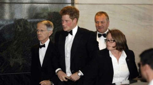 Prince Harry Comes to Washington [photos]