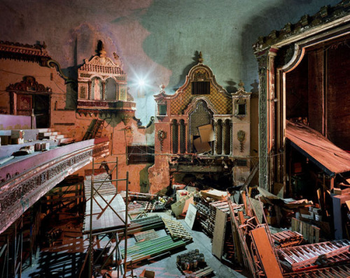 bbook:  Beautiful Photographs of Decaying and Repurposed Movie Palaces
