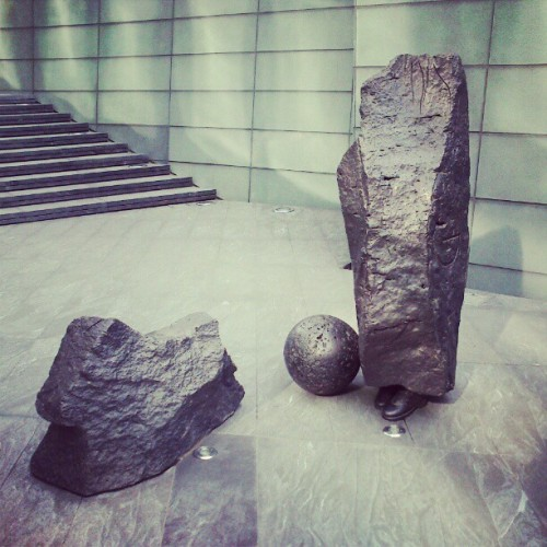 Something out of place? #look #cool #art #east #london  (Taken with instagram)