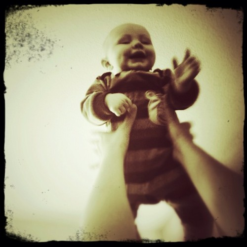 Happy 6 months little guy #shai  (Taken with instagram)