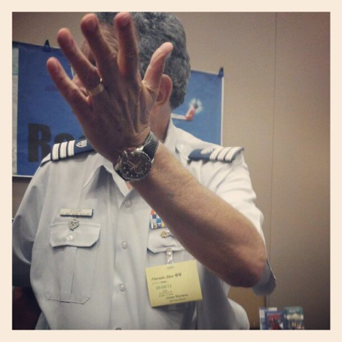 This is a man who talks with his hands… (Taken with instagram)