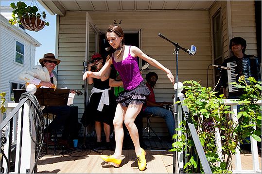 PorchFest returns to Somerville May 19  - Somerville's PorchFest, an eclectic day of public music and dancing, is coming back May 19, organizers said. (Erik Jacobs for the Boston Globe)