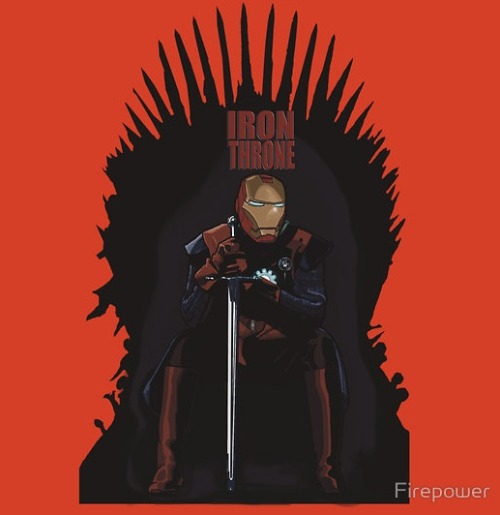 This Iron Throne Belongs To Tony Stark, Not Ned [T-Shirt]
