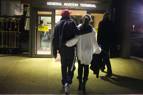 """Time to pick Ye up from the airport.""  ""I feel an anxiety attack coming on Jay. He is going to be so mad I forgot to bring his favorite teddy.""  ""Yeah…you fucked up.""  ""…"""