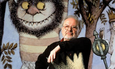 tzofimcvk:  Photo of the Day: Maurice Sendak Today we were saddened to hear of the passing of Maurice Sendak, famed children's author, most notably of Where the Wild Things Are. Sendak was a child of Holocaust survivors, and often drew back on his childhood experiences and Jewish background in his writing. Today we remember Maurice Sendak fondly, and know that his works will always keep his memory alive.