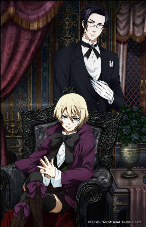 WATCH BLACK BUTLER TONIGHT! For those of you in the Dallas/Fort Worth area, tonight is our next FUNimation at the Movies screening which will feature the first five episodes from Black Butler Season Two. Festivities start off at 7pm at the Studio Movie Grill located at 1600 S. Stemmons Freeway in Lewisville, Texas. The screening is already fully booked with a waiting list, but there's still a chance to get in if some of the RSVPs are a no show. For all the details, or to make sure you're copied on future screenings please sign up at the meetup page: http://www.meetup.com/FUNimationAtTheMovies/ For those of you unable to make it out, the FUNimation Channel will also be airing another episode from Black Butler Season Two tonight at 9pm EST/8pm CST.
