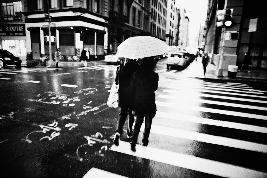 Crosswalk Couple NY.