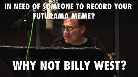 comedycentral:  Good news, everyone! Man of a thousand voices Billy West is going into the recording studio this week, and while he's there, he's going to record your favorite variations of the Fry and Zoidberg memes. Just paste your favorites in this Reddit thread and the 20 with the most upvotes will be recorded by Billy and put online. New episodes of Futurama return Wednesday, June 20 at 10/9c!