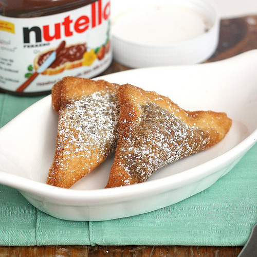 efccooking:  Nutella Ravioli  WHAT?!!
