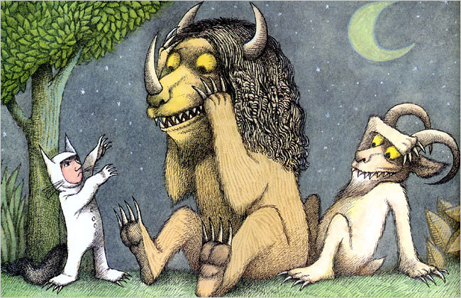 """There must be more to life than having everything."" -Maurice Sendak When we learn to let go, we learn so much about ourselves; and no matter where our feelings may take us and for however long, we find that we always come back to a place we love and to a place where we feel love…even if we first have to go to a place where the wild things are, to learn that :P Rest in peace."