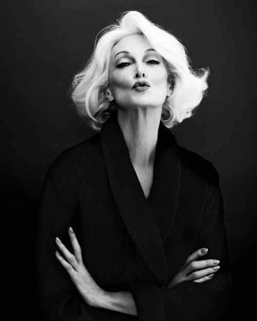 Carmen Dell'Orefice by Giuliano Bekor