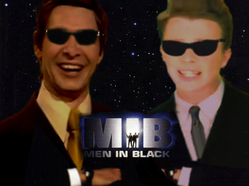 MIB - Man in Black (Eduard Khil and Rick Astley)