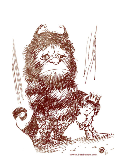 Tribute to Maurice Sendak.