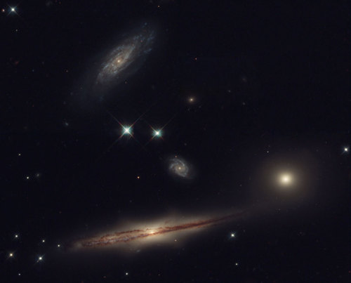 into-theuniverse:  HCG 87: Hickson Compact Group
