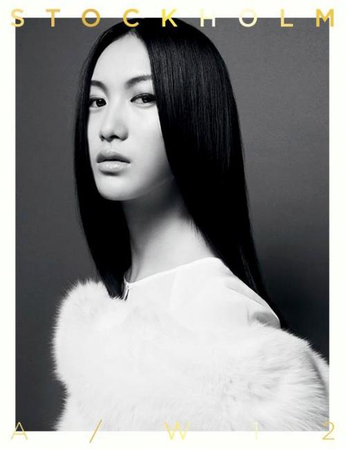thebeautymodel:  Shu Pei by Kai Z Feng for Stockholm A/W 2012.
