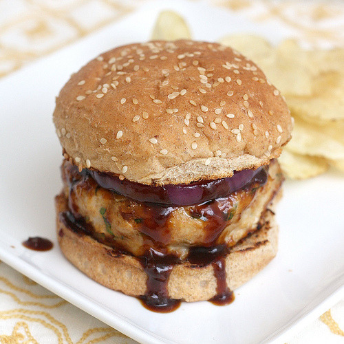 efccooking:  Barbecue Chicken Burgers