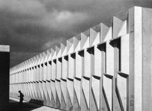 Torin Corporation Factory, Nevilles, Belgium, 1963-64 (Marcel Breuer & Associates)