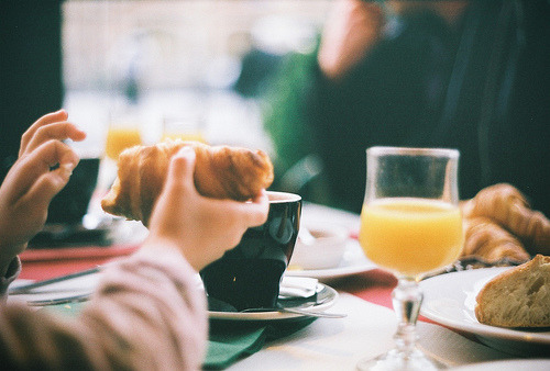 tempus-n0cem:  French breakfast (by lussul)