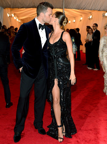 Tom Brady and Gisele Bundchen, Met Gala 2012