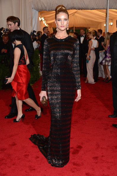 Rosie Huntington Whiteley, Met Gala 2012