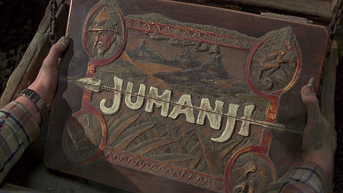 We review childhood cult classic Jumanji - will it be as good as we remembered or will the CGI make us want to die?!… http://www.geekchicgirls.co.uk/2012/05/jungle-wait-dice-read/